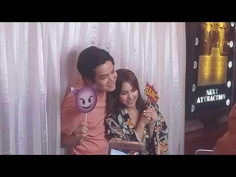 JoshLia Photo booth scenes at iba pang kulitan at sweet moments sa #ILoveYouHaterBlockScreening