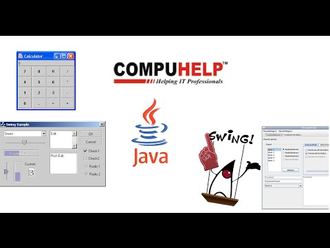 How to use different dialogs in a Java Swing