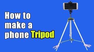 How to make a phone tripod