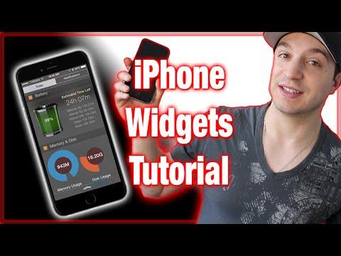 iPhone Widgets Tutorial - iOS 8 Notification Center