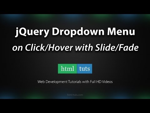 jQuery Dropdown Menu on Click/Hover with Slide/Fade