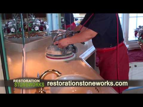 Restoration of Marble Vanity Top