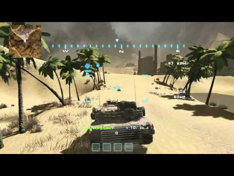 Modern Tank Battle game UDK tank and helicopter