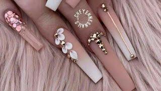 #20 Most beautiful wedding Nails art design 2020😘👌