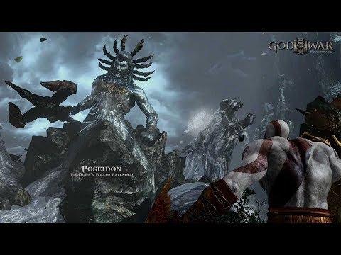 God of War® III  Poseidon Battle Gameplay