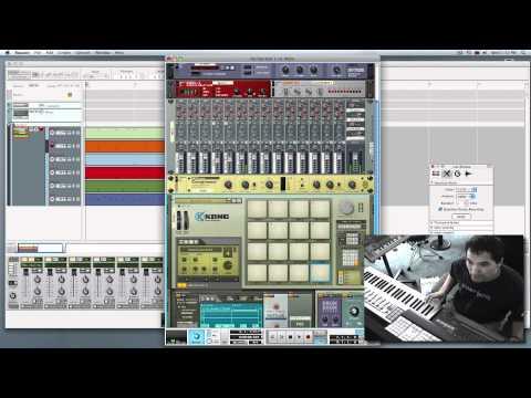 Hip-Hop Drum Beat & Bass Tutorial