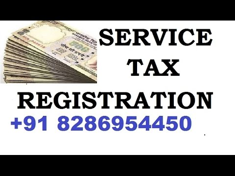 What is Service Tax Registration Call Now  8286954450