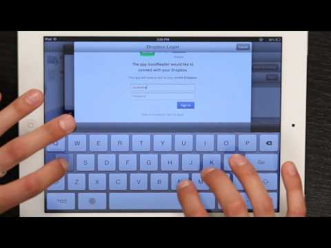 How to Move a PDF on iPad to iDisk : Tech Yeah!