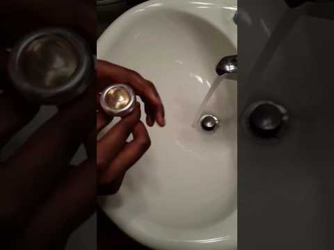 How to clean a trombone mouthpiece