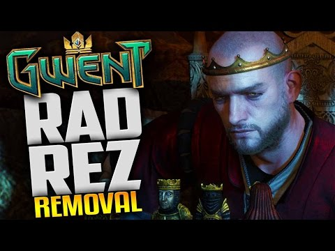 Gwent Gameplay - Northern Realms Radovid Rez & Removal Deck - Livestream Footage Gwent Closed Beta
