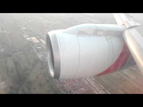 Landing in Bangkok. Suvarnabhumi Int'l airport Nepal Airlines