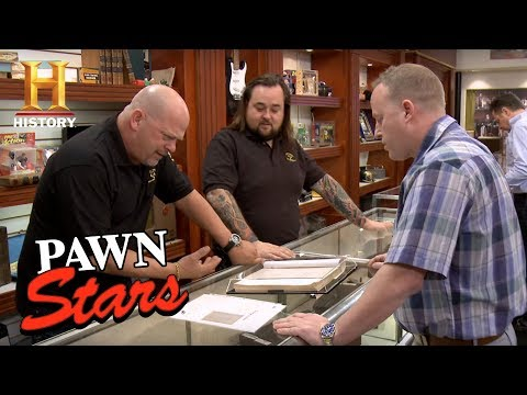 Pawn Stars: Star Wars Signed Script   History