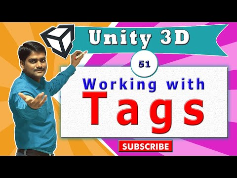 Unity Essentials Tutorial 51 - Working with Tags in Unity