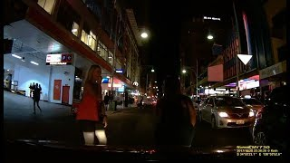 Driver gets free entertainment in Adelaides Nightclub district
