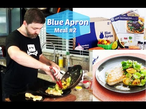 Blue Apron Review, Meal #2 Lemon Thyme Turkey Cutlets