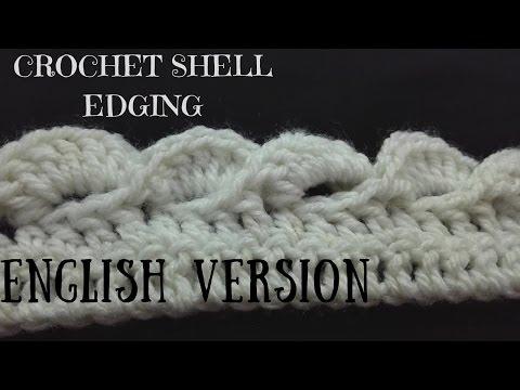 Crochet Fan/Shell Edging(English)