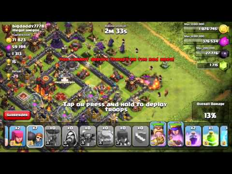 Clash of Clans - Quest to 4000 Trophies #12: Forgot My Spells...