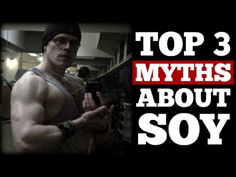 Top 3 Myths About Soy DEBUNKED With Science! - Cory McCarthy -