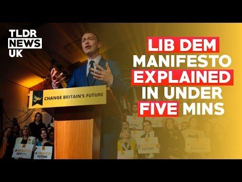 Lib Dem Manifesto Explained in 5 Minutes