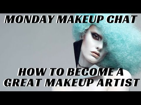 How to be a GREAT Makeup Artist? Exclusive interview w Roshar #MondayMakeupChat - mathias4makeup