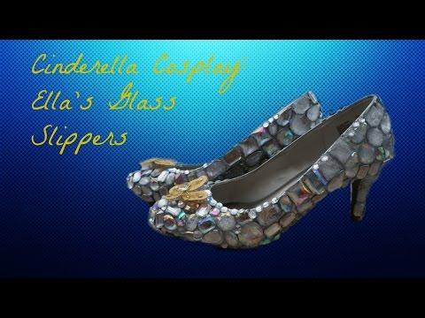 Cinderella Cosplay: Ella's Glass Slippers | Nerdy Mermaid