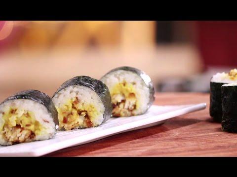 Indian Sushi | Cooking Classy with Afraz | Sanjeev Kapoor Khazana