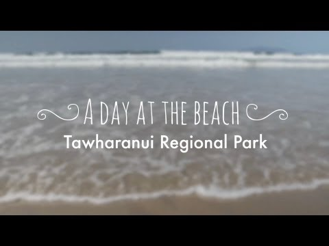 Tawharanui Regional Park, Auckland, New Zealand: a day at the beach