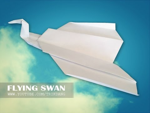 Best Paper Planes: How to make a paper airplane that Flies | Flying Swan