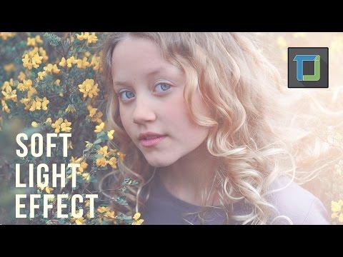 soft light effect   photoshop tutorials   photo effects