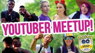 POKEMON GO YOUTUBER MEETUP @ Pokemon GO Fest 2018 Chicago | ZoeTwoDots
