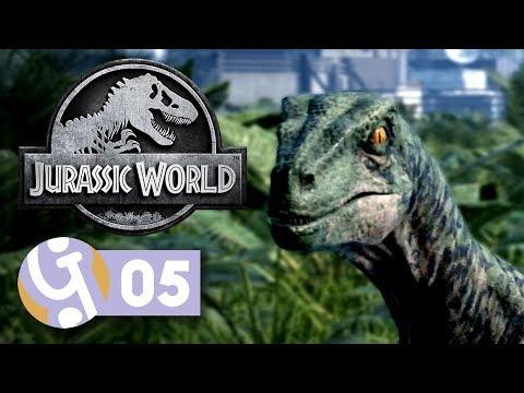 🦕 You Bred Raptors? | Let's Play Jurassic World Evolution #05
