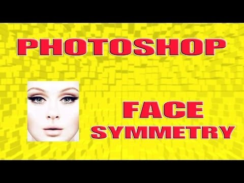 How to do face symmetry in Adobe Photoshop 6.0