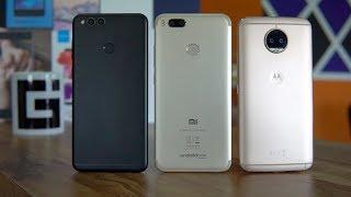 Best Mid-range Phones of 2017 - Reasons, Pros, Cons of each | Honor 7x, Mi A1, Moto G5s Plus