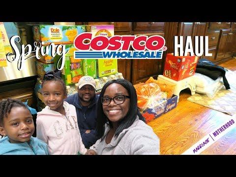 Huge SPRING COSTCO HAUL | March 2018  | Marriage & Motherhood🌸💐🌸