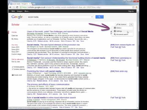 Google Scholar: A quick guide to effective searching