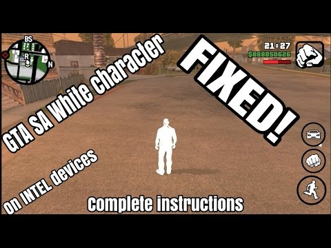 GTA SA White character Fix for Android