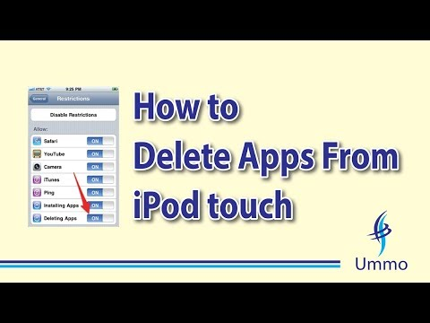 How to Delete Apps From iPod touch