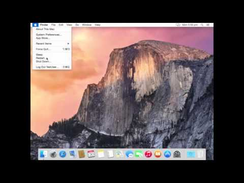 How to boot Mac 10.10 Yosemite into Safe Mode | VIDEO TUTORIAL