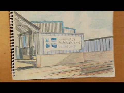 Tour of Shetland College UHI