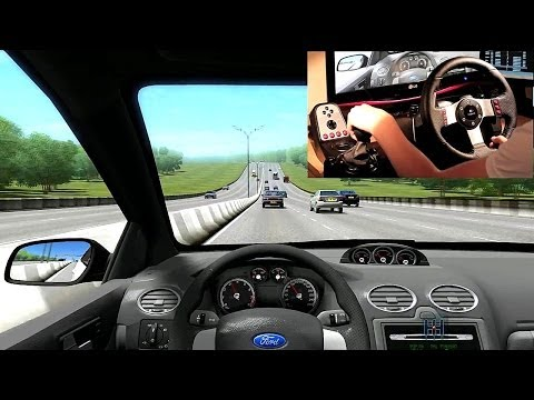 City Car Driving gameplay #16 | 2006 Focus ST | Logitech G27 Steering Wheel Overlay | [HD]