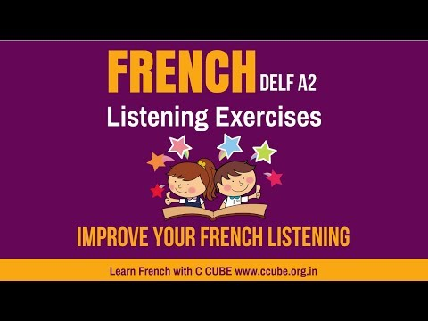Improve your French Listening DELF A2 Exercises - Practice online comprehension orale Sample Paper