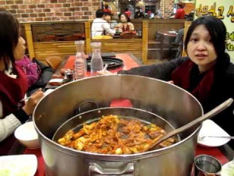 SEOULfanclub.com : Eat takkalbi at myeongdong