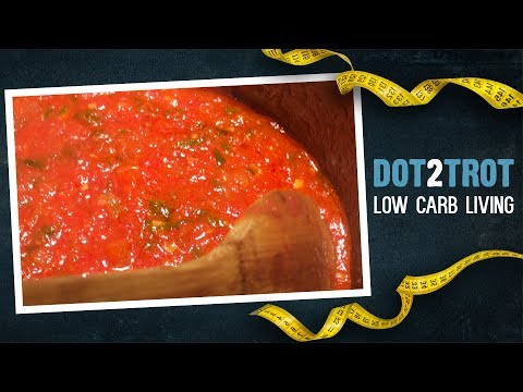 Low Carb Tomato Sauce