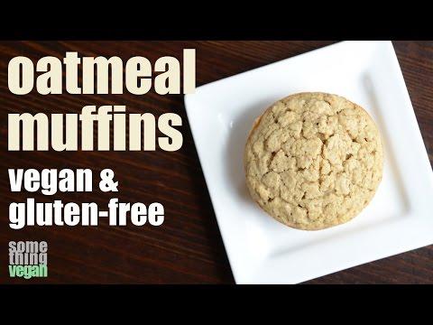 oatmeal muffins (vegan & gluten-free) Something Vegan