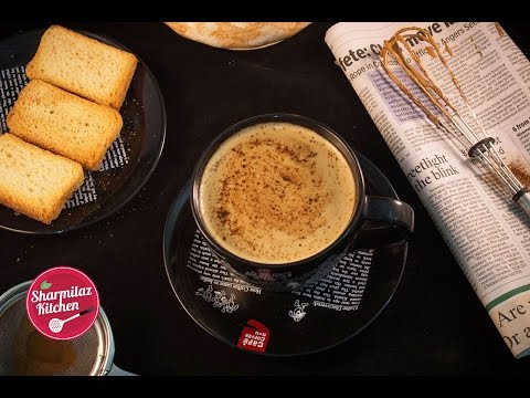 Beaten Coffee/ Indian Cappuccino (Without Machine) By Sharmilazkitchen