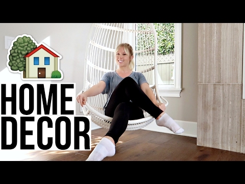 New Hanging Chair | Home Decor!