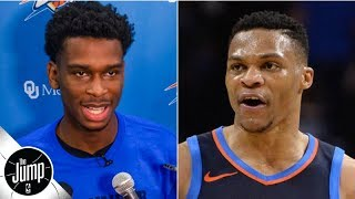 Shai Gilgeous-Alexander's comments on Russell Westbrook were smart - Royce Young   The Jump