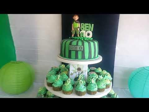 Pastel de Ben 10 / cake Ben 10