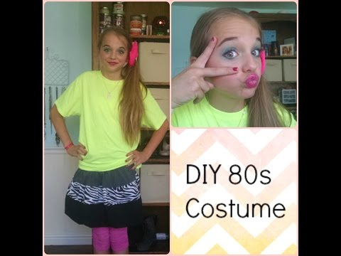 DIY 80s Halloween costume