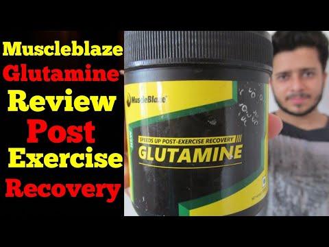 MuscleBlaze Glutamine Review in Hindi   Glutamine Benefits in Hindi  Skyking Health